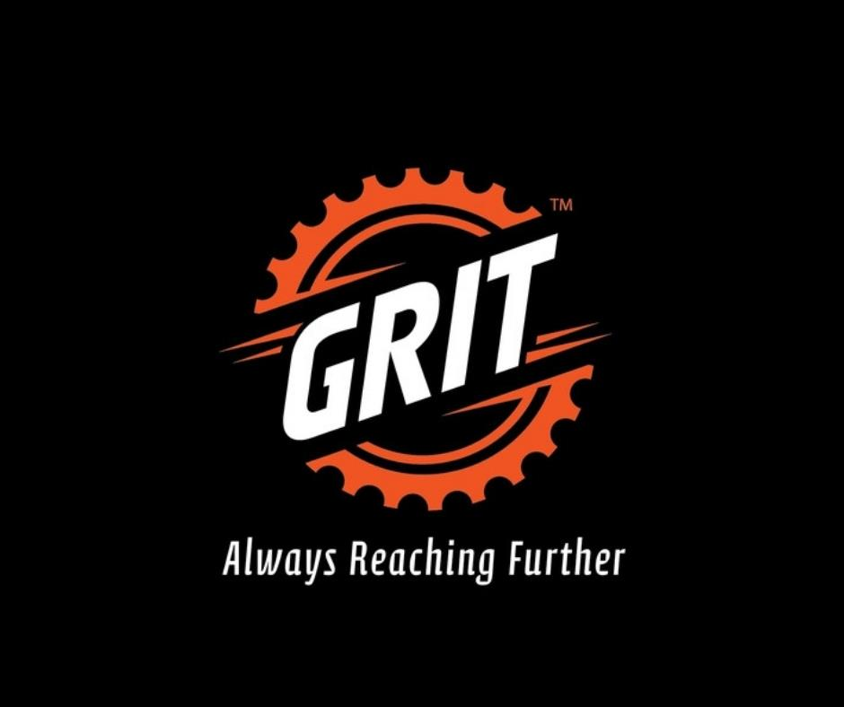 Grit - Always Reaching Further Logo