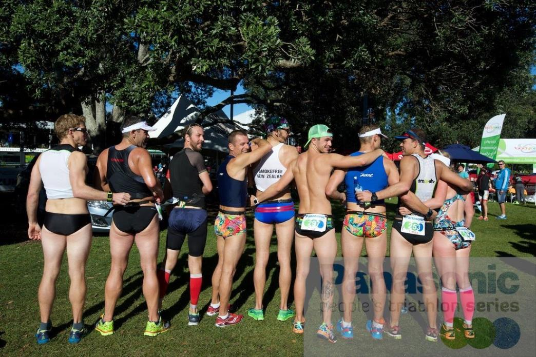 Our unofficial club champs is also our speedo & togs only race.