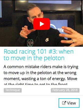 when to move in the peloton