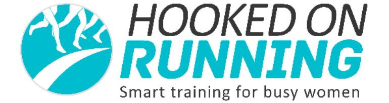 Hooked on Running Logo