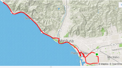 Club Ride Route Map