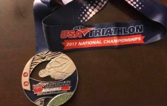 2017 USA Triathlon National Championships medal
