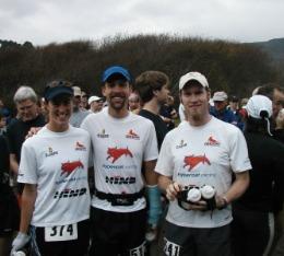 Hypercat racers at the Muir Beach Trail Run.