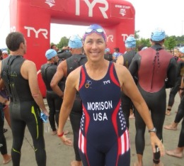 Triathlete is ready to race at USA Triathlon Nationals.