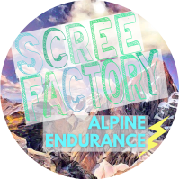 Scree Factory Alpine Endurance Logo