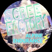 Scree Factory Alpine Endurance Logo