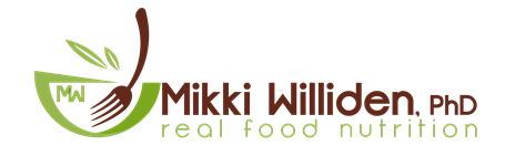 Mikki Williden: Real Food Nutrition Logo