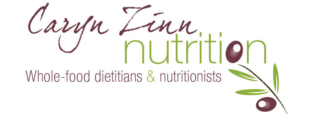 Caryn Zinn. Dietitian & Nutritionist